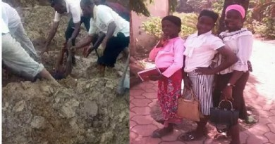 PHOTOS: 3 sisters dies after drowning in Ebonyi River