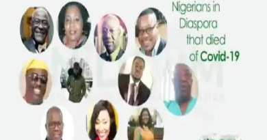 Identities of Nigerians died from coronavirus abroad revealed