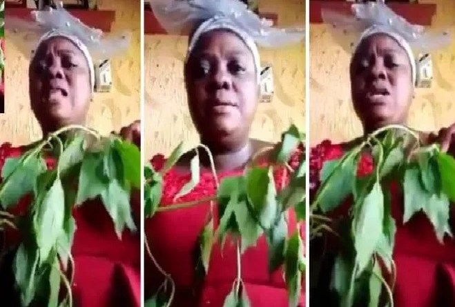 Nigerian Prophetess reveals the cure for Coronavirus, says it's from God