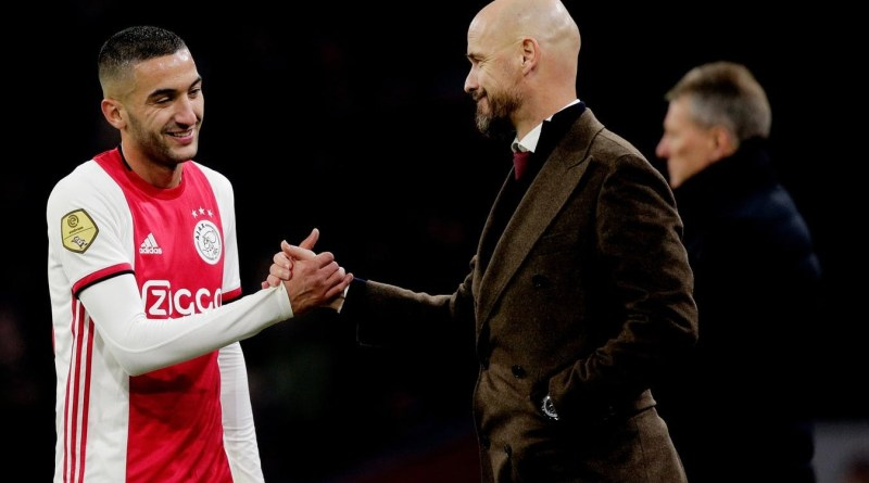 Ajax coach confirms Hakim Ziyech move to Chelsea, plans to sign a youngster as replacement