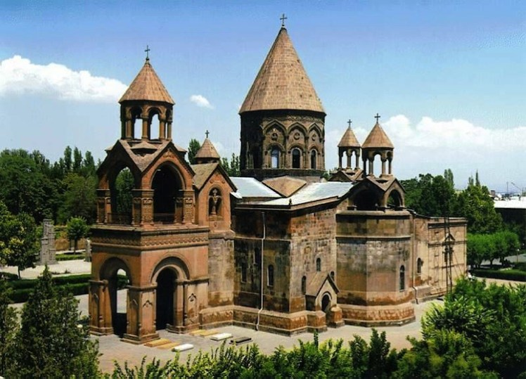 Image result for Echimiazin Armenian Apostolic Church