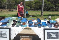 Pots and Paintings by the Artist