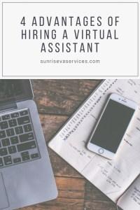 Advantages of Hiring a Virtual Assistant