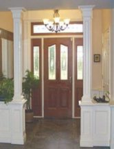 paneled wainscot collonade
