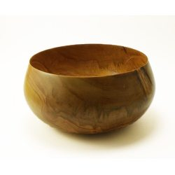wooden bowl hand turned in Cherry