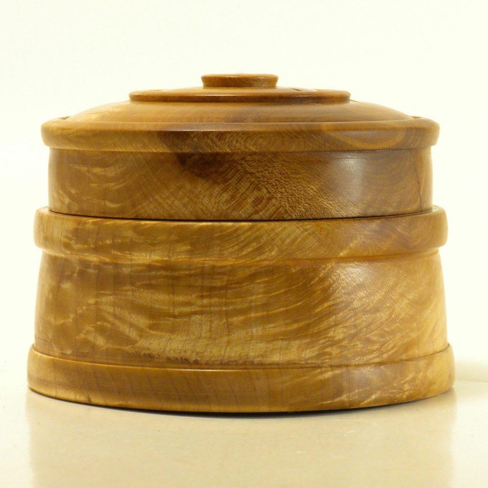 Lidded Box in Maple