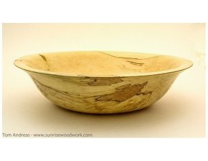 Bowl in Spalted Maple