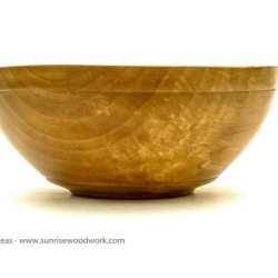 Bowl in pear wood - item 351