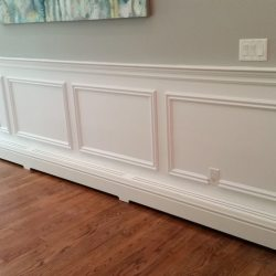 Custom covers for Baseboard heat
