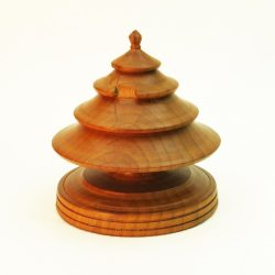 Wooden Christmas Tree in Cherry