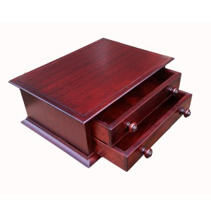 2 Drawer cabinet in Mahogany