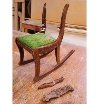 Restoring an Antique Child's Rocking Chair