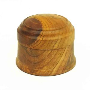 Lidded Box turned from Cherry Wood
