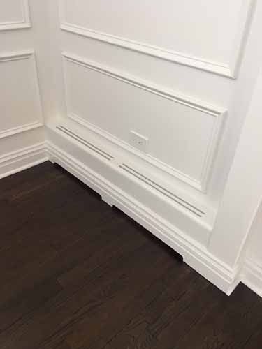 Custom Baseboard Heater Cover