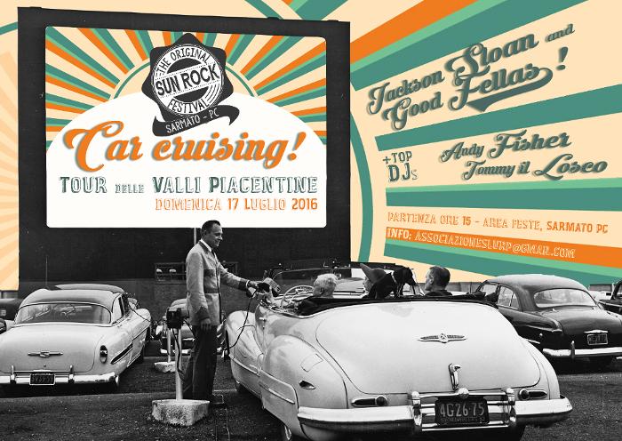 Sun Rock Festival car cruising