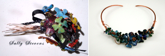 Copper Clay and Torch Fired Enamels