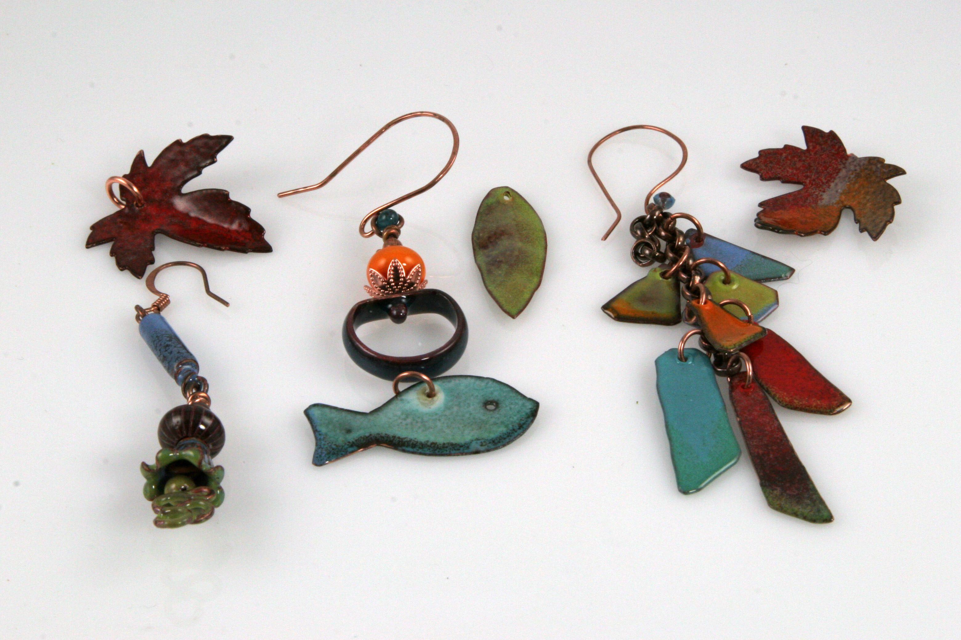 Enameling Jewelry Components