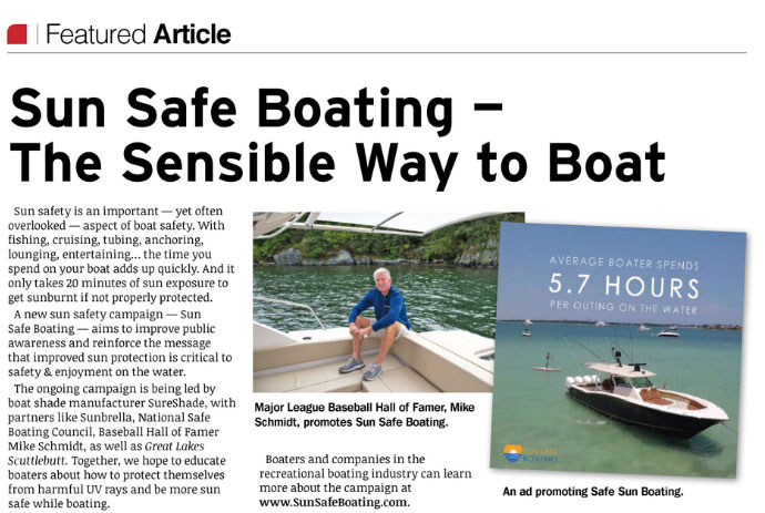 sun safe boating feature