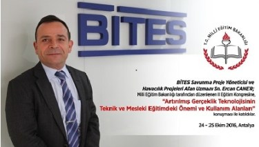 Yazarımız Ercan Caner MEB kongresine katıldı