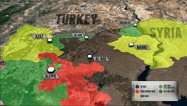 IŞİD Al Bab'ı Cehenneme Çevirebilir