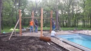Pergola construction
