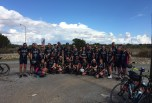 The 35 Cyclists that took part in raising money for such a worthy cause