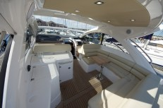 She has the perfect amount of room available on board to be able to have friends and family on board