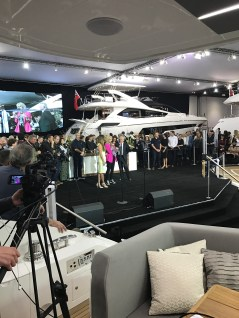 You could be attending shows as a Sunseeker Sales Broker such as the London Boat Show