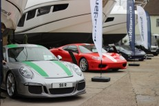 GC Motors added even more luxury toys to the show with their range of super cars