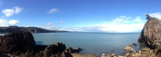 The Devon coast line boasts spectacular views all year long