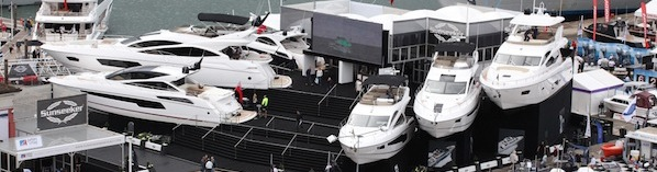 Sunseeker showcase Best of British yachts at Southampton Boat Show