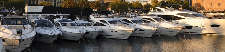 Halfway mark at Barcelona Boat Show and Sunseeker is producing strong results