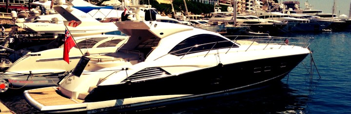 "'Just' a perfect location: Sunseeker Predator 54 ""JUST"" arrives in Monaco"