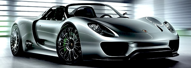 Unique preview of Porsche 918 Spyder with Sunseeker London Group and Sunseeker Germany