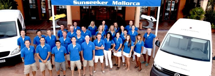 New service and parts office opens in Port Adriano with Sunseeker Mallorca
