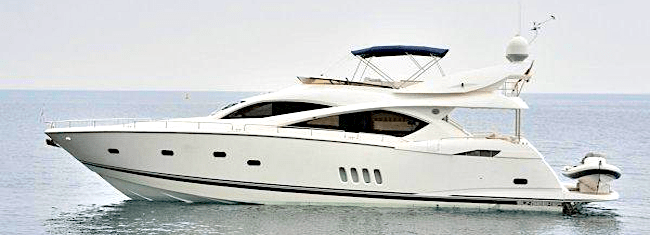 "Sunseeker 82 Yacht ""WHITE GOLD"" listed by Sunseeker London"