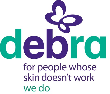 National charity DEBRA does outstanding work for sufferers of the genetic skin blistering condition Epidermolysis Bullosa (EB)