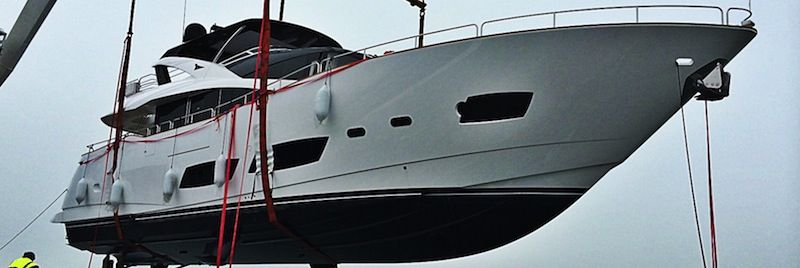 New 28 Metre Yacht sets sail to Mediterranean with Sunseeker London