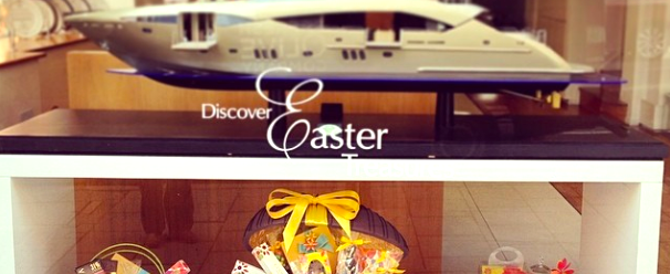Sunseeker London celebrates Easter the Mayfair way!