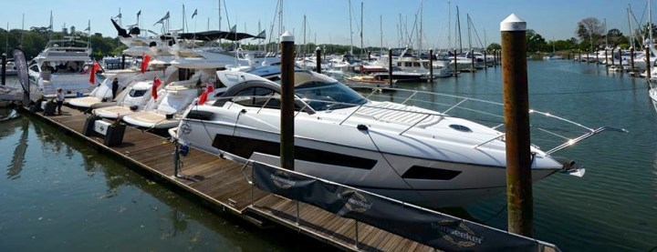 Super Saturday: Sunseeker at the British Motor Yacht Show this weekend