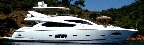 """Sunseeker 80 Yacht """"ABBY GRACE"""" reduced by Sunseeker London"""