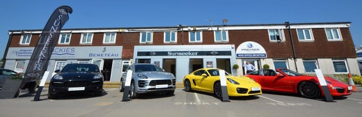 Boutique Sunseeker Collection at Swanwick Marina this September