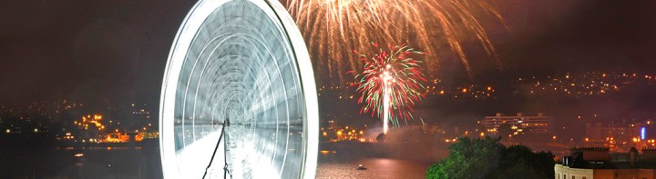 Bank holiday with a bang as Sunseeker Torquay enjoy annual fireworks