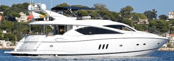 """""""SOMETHING DIFFERENT"""": Sunseeker 75 Yacht listed by Sunseeker Poole"""