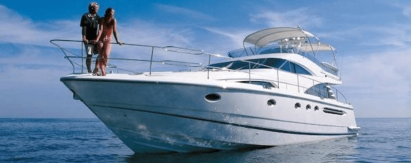 "Sunseeker Southampton reduce Fairline Squadron 58 ""CHILDSPLAY"""