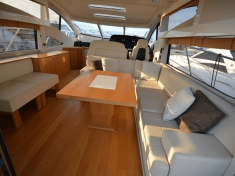 "With a light and neutral interior, ""KASIA II"" has a fresh and inviting feel"