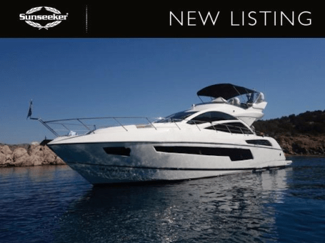 """Sunseeker Monaco have been appointed Central Agents for the Sunseeker 68 Sport Yacht """"LARA"""" - the only used example of this model on the market"""