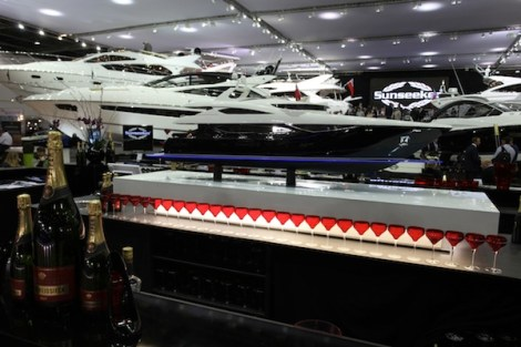 A total of 8 models will be displayed by Sunseeker International, from the San Remo 485 to the 28 Metre Yacht