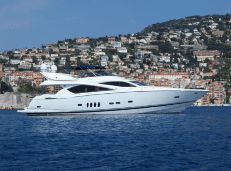 "Sunseeker Poole worked with Moore International to secure the sale of the Sunseeker 82 Yacht ""ALCATRES"""