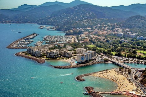 La Napoule is beautifully situated in the South of France
